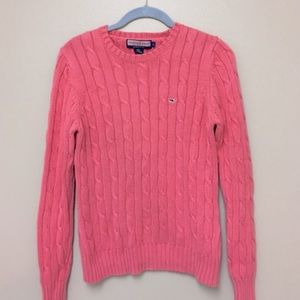 Vineyard vines cable sweater size large